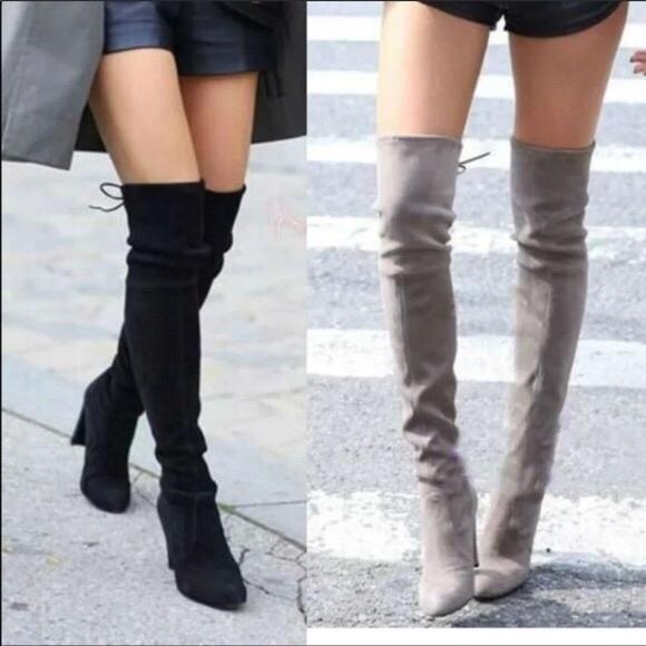 Brand New Steve Madden Thigh High Boots